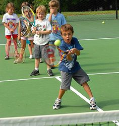 Kids and Tennis - Keeping Them Interested