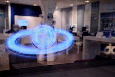 O2 hologram