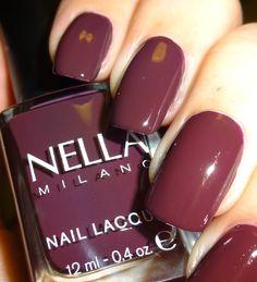 Wendy's Delights: Nella Milano Nail Lacquer - Mulberry Wood @Nella_Milano