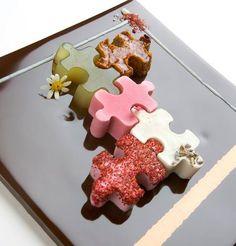Puzzle de dulces, 5 variedades para compartir o no... :-)