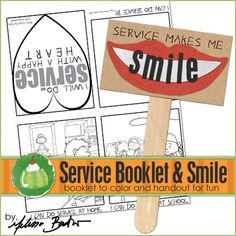 Service with a Smile Family Home Evening idea!