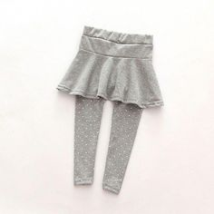 Toddler Cozy Pants Patchwork Skirt Girl Toddler Cozy Pantskirt Girl Wool Culotte Kids Child Legging Trousers - Kid Shop Global - Kids & Baby Shop Online - baby & kids clothing, toys for baby & kid Culotte Pants, Dress Trousers, Toddler Leggings, Girls Leggings, Toddler Outfits, Kids Outfits, Toddler Girls, Fall Outfits, Jersey Knit Skirt