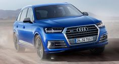 Audi SQ7 TDI Introduces The World's First Electric-Powered Compressor