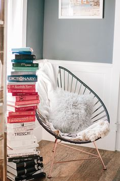 Acapulco Chair - Reading Nook