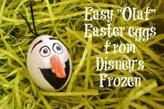 Olaf Easter Eggs! Disney's Frozen