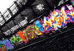 graffiti on black wall - Google-søk