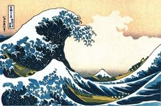 "Hokusai's ""The Great Wave off Kanagawa"" Lesson Plan for 3rd-5th grade FREEBIE!"