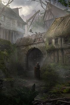 Murky Village by Marco Gorlei