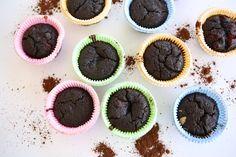 Chocolate banana muffins, Chickpeas and Muffins on Pinterest