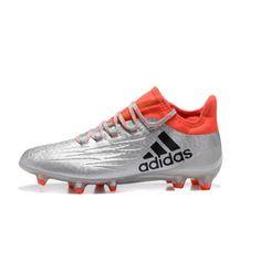 Acquistare Adidas X 16.1 FG Scarpe Da Calcio Argento Arancia - Adidas X
