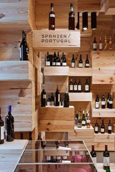 Amazing Wine Store Interior Design By Oos