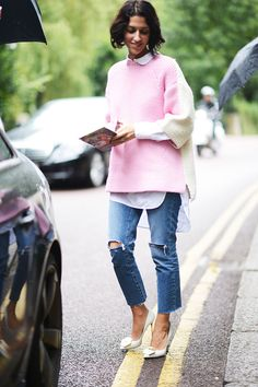 Chic Street Style in London