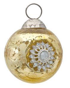 Small Gold Sun Mercury Glass Ornament  ~ Ʀεƥɪאאεð вƴ ╭•⊰✿ вƴ © Ʀσxʌאʌ Ƭʌאʌ ✿⊱•╮