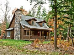 my dream home.. in the woods.  with no neighbors.  and a lot of deer.