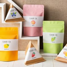 Full width product labels for bags and triangular containers Packaging Snack, Spices Packaging, Pouch Packaging, Food Packaging Design, Packaging Design Inspiration, Brand Packaging, Chocolate Packaging, Label Design, Branding