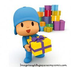 Pocoyo con regalos para todos
