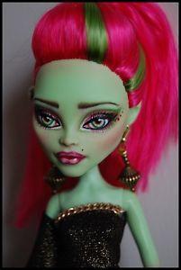 "OOAK Art Doll Monster High Repaint and Custom ""Disco Diva"" by Alex | eBay"