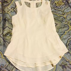 Cute cream top Fresh cute top Tops Blouses