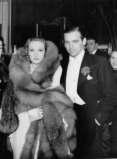 Marlene Dietrich (with Douglas Fairbanks Jr.)