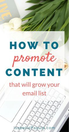 Blog Posts: How to promote your blog posts to build your list and get more  leads. Click to find out the 23 things to do before and after publishing  content + get your FREE checklist.