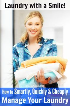 Tips for doing laundry better: an awesome list of laundry system ideas and laundry tips that will help you do laundry smarter, quicker, and for less.
