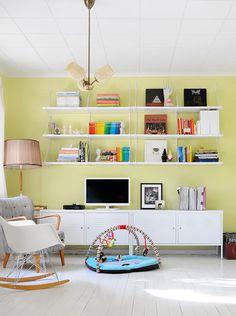 IKEA Sterreich Inspiration Wohnzimmer LACK Wandregal PS Schrank