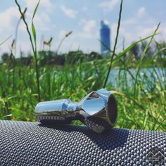 UNBREAKABLE DE-3 made from Surgical Stainless Steel!!! Ever smoked from a surgical steel piece? Please comment below 💚 And visit www.metalforms.at for more infos about our high quality pieces