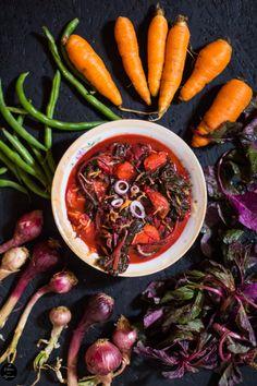 Red Amaranth Stew – A Kitchen In Uganda    https://akitcheninuganda.com/2017/07/05/red-amaranth-stew/