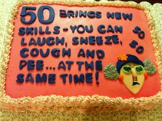 Funny Birthday Wishes - Messages and Quotes - WishesMsg Funny 50th Birthday Quotes, Funny 50th Birthday Cakes, 50th Birthday Wishes, 50th Cake, Birthday Wishes Messages, Birthday Parties, Birthday Ideas, 65 Birthday, Birthday Decorations