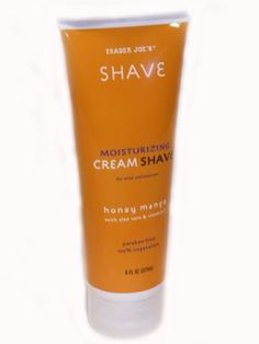 Best shaving cream in the universe.  Comes from Trader Joe's.  Hubby borrowed it once when his ran out, and has never looked back.  Lasts forever, smells good, inexpensive, makes us both happy.  Holy perfection.