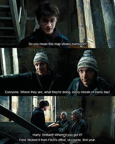 Fred, George, Harry