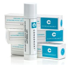 Consonant Organic Lip Conditioner - Unscented * Packaging Colour May Vary $12.00 - from Well.ca