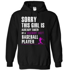 Taken by a baseball player T Shirts, Hoodies. Get it now ==► https://www.sunfrog.com/LifeStyle/Taken-by-a-baseball-player-1448-Black-14407454-Hoodie.html?57074 $39.99