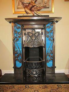 Superbe cheminée Art Nouveau | Art Nouveau | Pinterest | Art deco ...