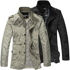 Summer Man Fashion Jacket Coat
