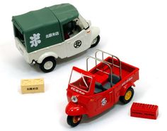Tomica LV Daihatsu Midget Rice Shop Oriental Cola Toy Festival Limited Set of 2 #Tomica