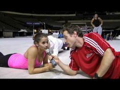 Behind the Team Video. watch it because Alicia gives you a exercise to do!