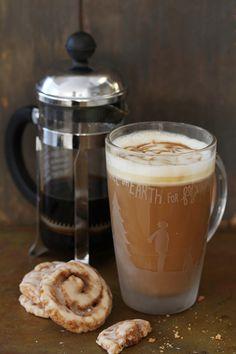 Cocktail O'Clock: The Ultimate Latte - Bourbon Butterscotch Latte