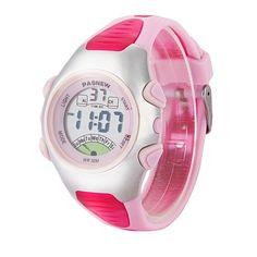 Hot !2015 Fashion Pasnew 3ATM Waterproof Digital Watches Boys/Girls/Kids's LED Sport Quartz Watch For Children relogio masculino