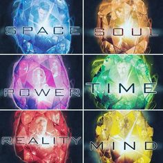 Stones of Marvel Cenematic Universe