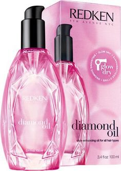 Redken Diamond Oil Glow Dry 3.4 oz full size BNIB sealed