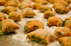 Sweet Potato and Spinach Gnocchi from AmyBites