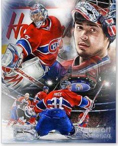 Goalie Gear, Goalie Mask, Hockey Goalie, Field Hockey, Hockey Teams, Hockey Players, Ice Hockey, Hockey Stuff, Montreal Canadiens