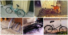 """Another one of these old ussr bicycle named """"Салют"""" (Saljut) got a new look."""
