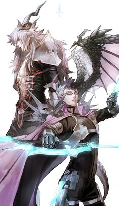 Siegfried and Sigurd Character Concept, Character Art, Character Design, Anime Guys, Manga Anime, Anime Art, Fate Zero, Fate Stay Night, Fate Characters