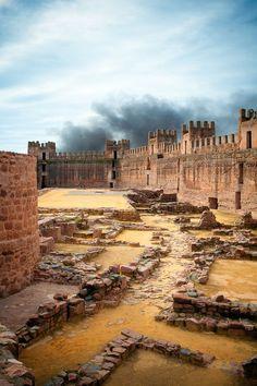 Castillo de Burgalimar, Baños de la Encina, Jaén, Spain #Travel #Spain…