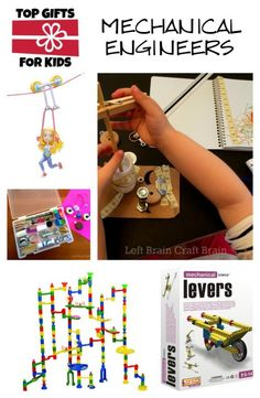 Top Gifts for Young Mechanical Engineers - great STEM gifts for Christmas and birthdays.