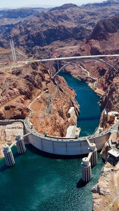 Hoover Dam ,  Lake Mead, United States iPhone 5 wallpapers, backgrounds, 640 x 1136