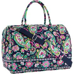Frame Travel Bag Petal Paisley. Our take on a classic vintage piece, this iconic travel bag features a wide double-zip opening and a spacious interior that make it so easy to pack. There's a handy travel sleeve and inside, four large slip pockets keep smaller items organized, while an exterior slip pocket keeps must-haves within reach.
