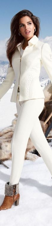 Via tumblr   The House of Beccaria♔PM~ I'd wear this to an apre' ski party